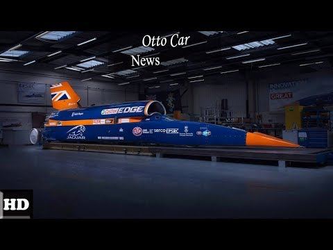 Hot News!!! World's Fastest Car – 1,000mph Bloodhound SSC – First Public Runs Spec & Price