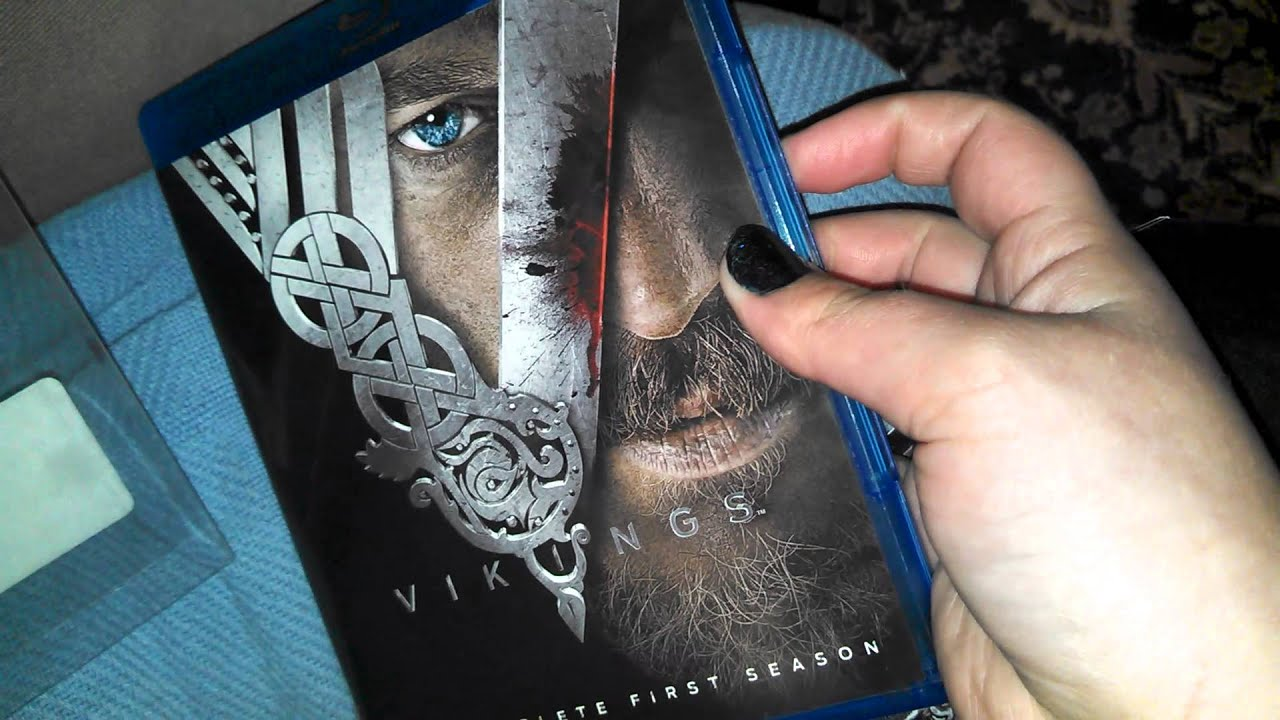Vikings season 1 bluray unboxing