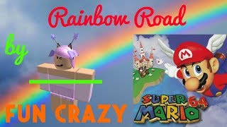 Roblox | FE2 Map Test : Rainbow Ride (Fun Carzy)