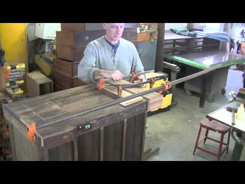 Restoring an Antique Cabinet (Part Two) – Thomas Johnson Antique Furniture Restoration