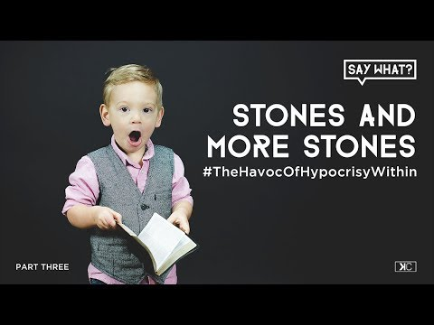 Stones And More Stones: The Havoc Of Hypocrisy Within