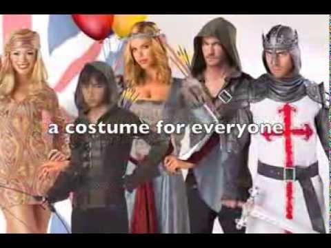 Best of British Fancy dress costumes