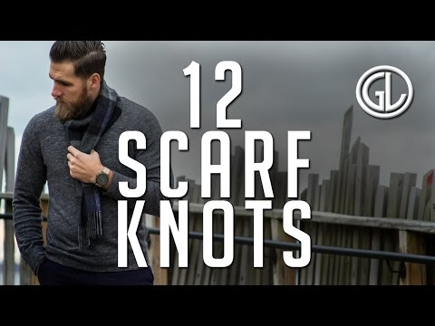 12 Manly Ways To Wear A Scarf || How To || Winter 2017 || Gent's Lounge