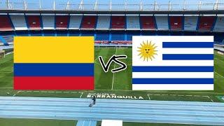 COLOMBIA VS URUGUAY - ELIMINATORIAS FECHA 3 - RUMBO A QATAR 2022