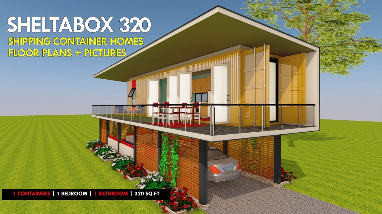 Shipping Container HOMES PLANS and MODULAR PREFAB
