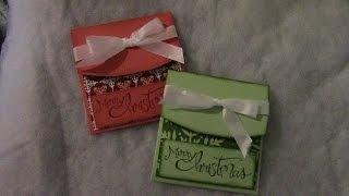 Slide Up Gift Card Holder