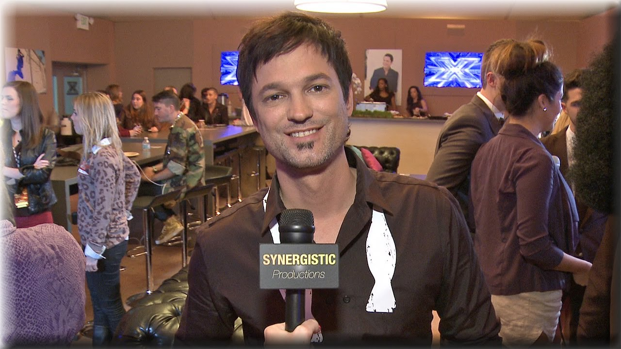 Jeff Gutt | Dad's Visit & Big Band Performance | The X Factor Season 3 Top 8