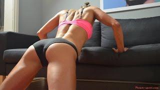 Как накачать верх девушке. Тренировка груди плеч, спины и рук.(Жиросжигатели и прочее спортивное питание http://goo.gl/gxOtQs В этом видео показано как накачать верх девушке...., 2015-08-29T19:22:54.000Z)