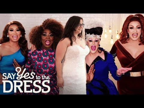 🔴Bride Gets Fabulous Makeover From Drag Queens!   Drag Me Down The Aisle