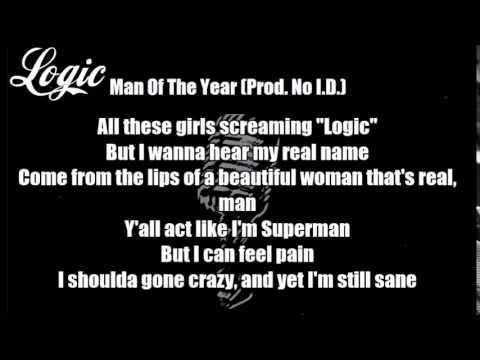 Logic - The Man Of The Year (Prod  No I D ) Lyrics