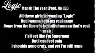 Logic - The Man Of The Year (Prod. No I.D.) Lyrics Mp3