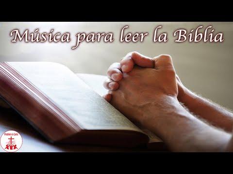 Musica para leer la Biblia, que nos ayuda a conectar nuestro espíritu con el Espíritu Santo