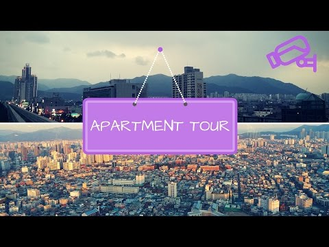 Daegu, South Korea APARTMENT TOUR 2016 // ESL teaching