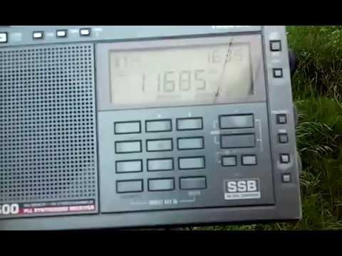 11685 kHz NHK Radio Japan (transmitter Kranji, Singapore)