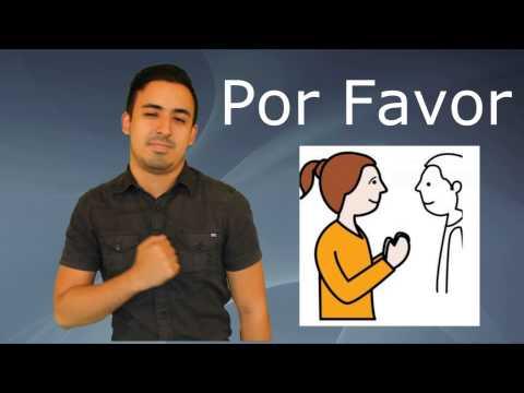Vocabulario Básico 2 - Lengua de Señas Colombiana LSC