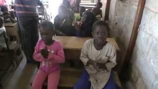 Afrykańska szkoła w Bakau [Gambia]