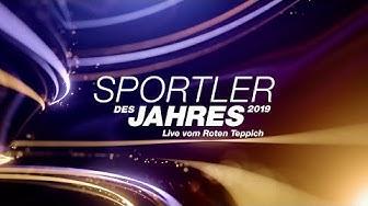 """Live vom Roten Teppich """"Sportler des Jahres 2019"""""""