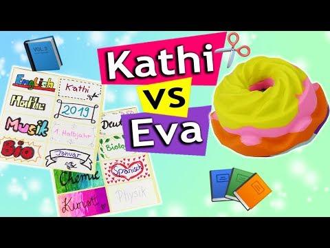 BACK TO SCHOOL 2019 Coole IDEEN für die Schule | Eva vs Kathi  DIY Inspiration Sonntagschallege #195