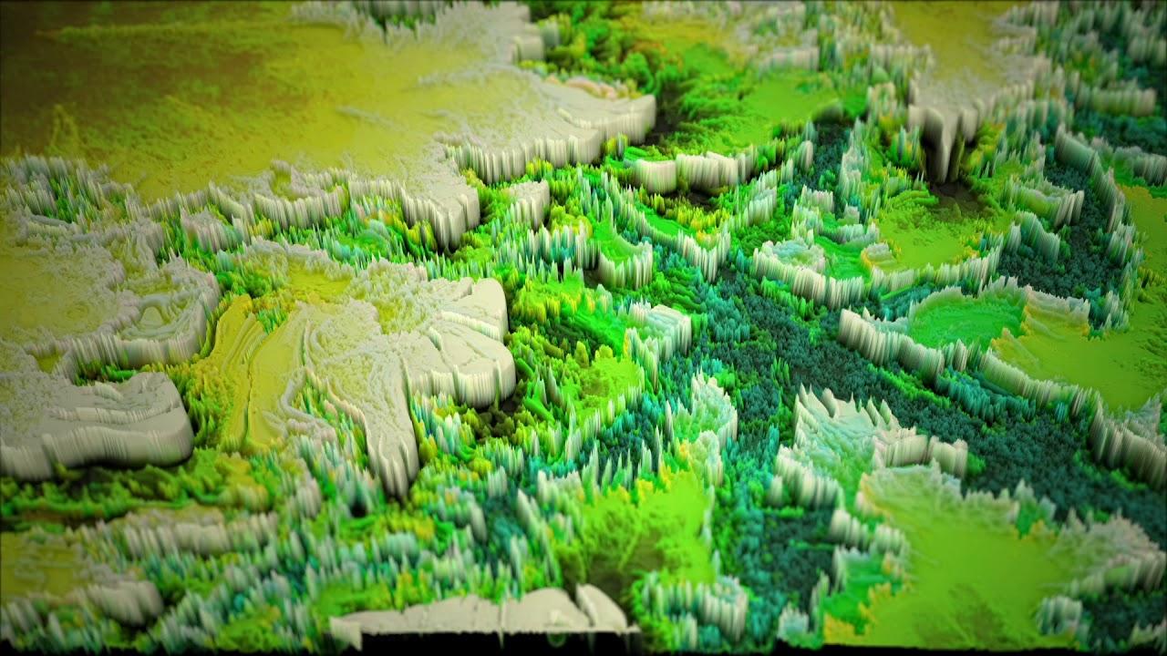 Height Maps Free Vj Loop