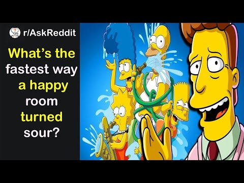 What is the fastest way a room of happy people turned sour? | Podcast | r/askReddit | Rabbit |