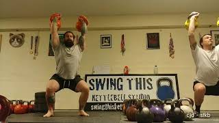 "The "" Double Slim "" Kettlebell Complex"