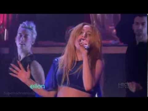 Lady Gaga: Judas (live on Ellen Show) + HQ sound