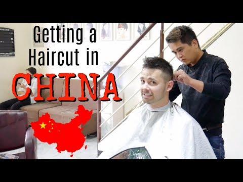 Getting a Haircut in China // Nanning Guangxi