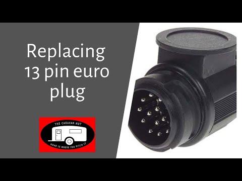 Changing Broken 13pin Euro Plug Youtube