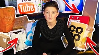 THE BIGGEST PO BOX OPENING YET!! - Morgz Mail #8 thumbnail