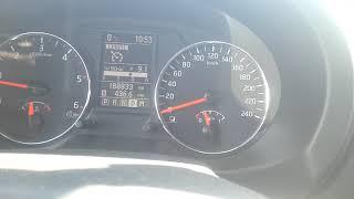 Nissan X-Trail DCI 2.0 - разгон до 100 км/ч
