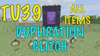 Minecraft Xbox / PS - TU41 - DUPLICATION GLITCH ANY ITEM - TUTORIAL - NEW + WORKING - AFTER PATCH