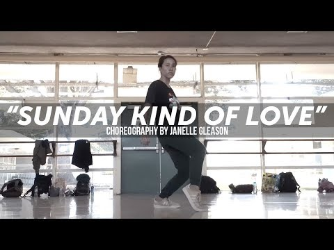 Etta James Sunday Kind Of Love  Choreography  Janelle Gleas