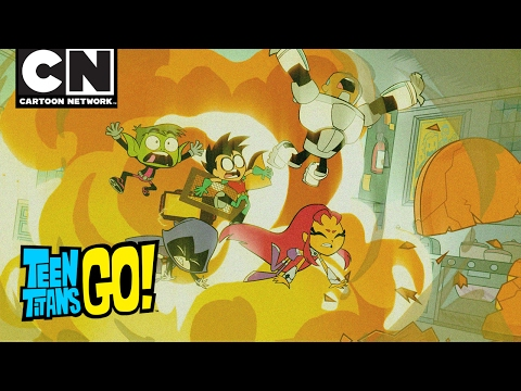 Teen Titans Go! | Popcorn War | Cartoon Network