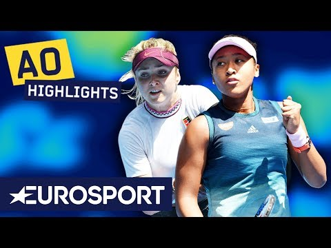 Naomi Osaka vs Elina Svitolina Highlights | Australian Open 2019 Quarter-Finals
