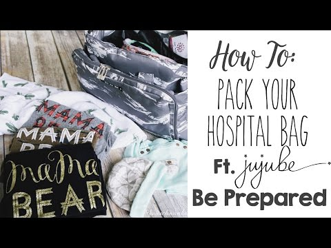 HOW TO: Pack Your Hospital Bag for Labor & Delivery Plus Tips!