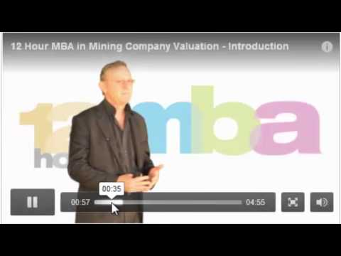 How to finance your mining project - 12 Hour MBA - Terrapinn Training