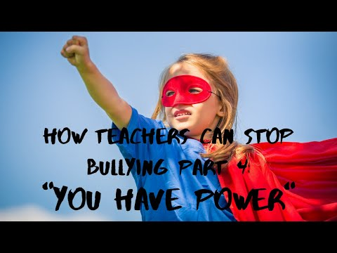 How Teachers Can Place Bullies within the Classroom