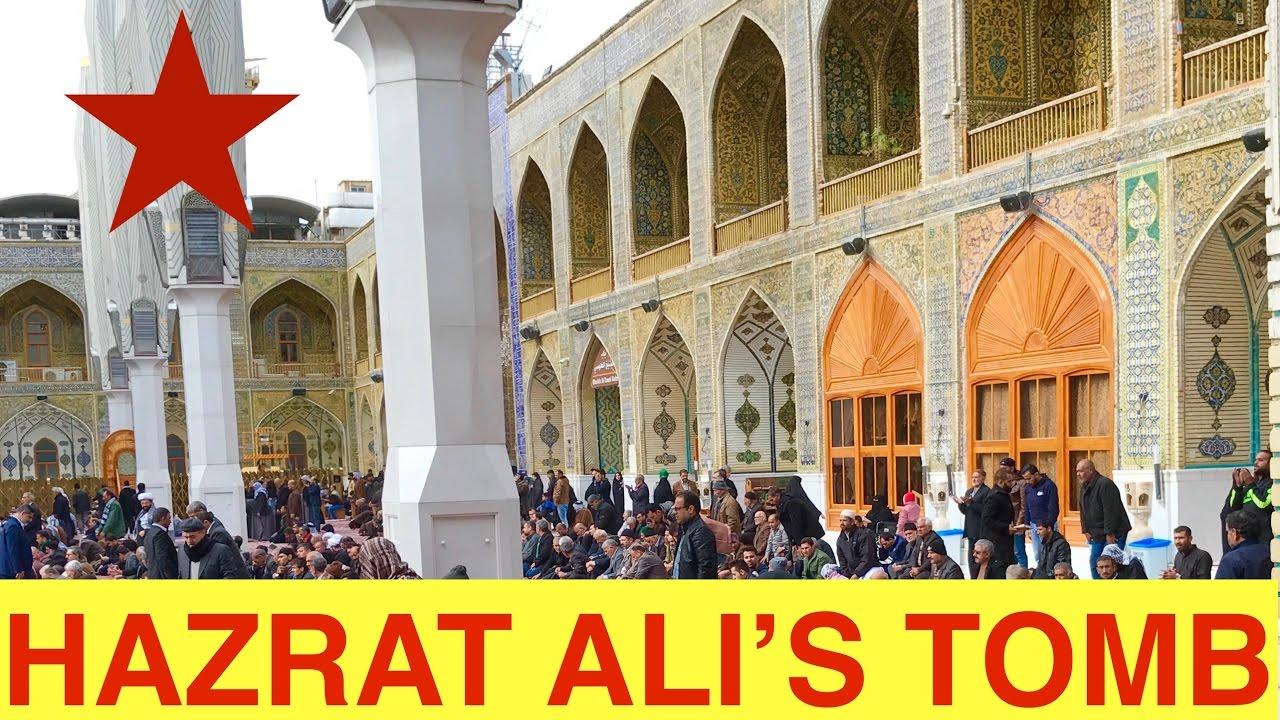 Maula Ali Shrine Wallpaper: *Beautiful Song With Hazrat Ali's (also Noha&Adam) Tomb In