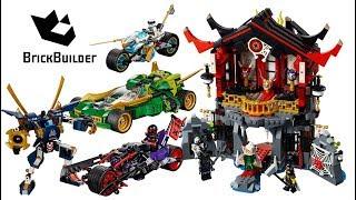 Lego Ninjago 2018 All winter sets - Lego Speed build