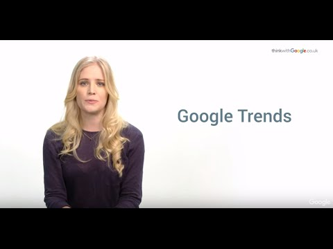 Planning Tools: Google Trends