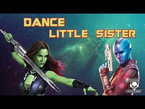 Gamora Vs. Nebula - Dance Little Sister (GOTG) (Spoilers)