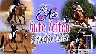 Lia & Alfi - Gute Zeiten Schlechte Zeiten - beim Turnier mit den Ponys