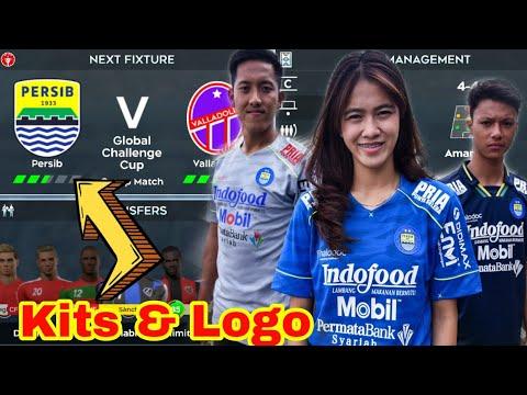 Cara mengganti Logo & Kit Persib Bandung Dream League Soccer 2019.