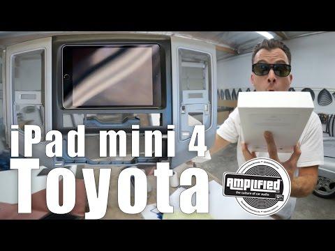 IPad Mini 4 Toyota Tacoma Install