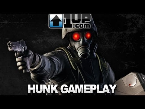 Resident Evil: Revelations - Hunk Gameplay Trailer