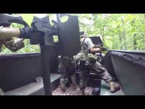 Broken Home 3 - Riding in the Gamblers QRF Technical - Valley Ambush