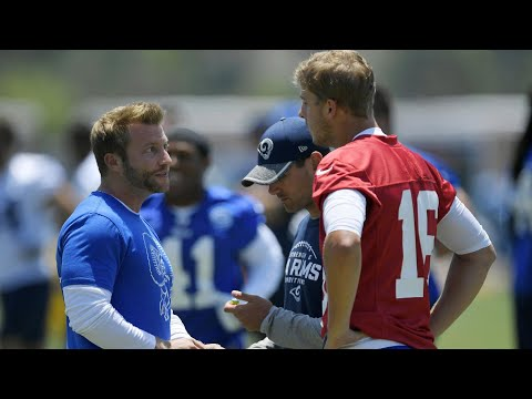 How Sean McVay is helping Jared Goff at line of scrimmage
