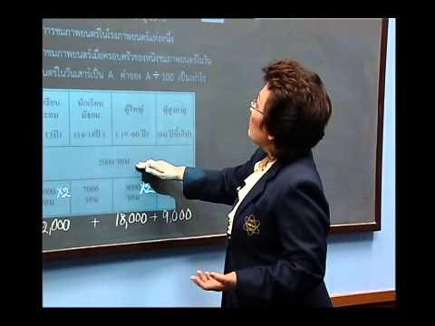 เฉลยข้อสอบ TME คณิตศาสตร์ ปี 2553 ชั้น ป.6 ข้อที่ 17
