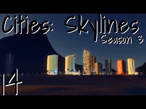 Cities: Skylines Season 3 - Episode 14: Resort Town