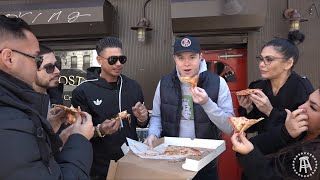Barstool Pizza Review - Posto Pizza With The Cast of Jersey Shore